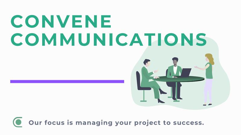 An illustration for Convene Communications